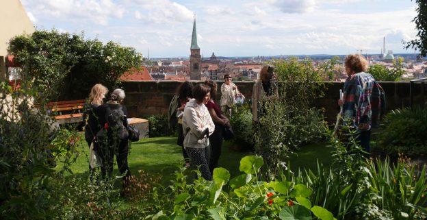 Meriangarten Burg, Nürnberg